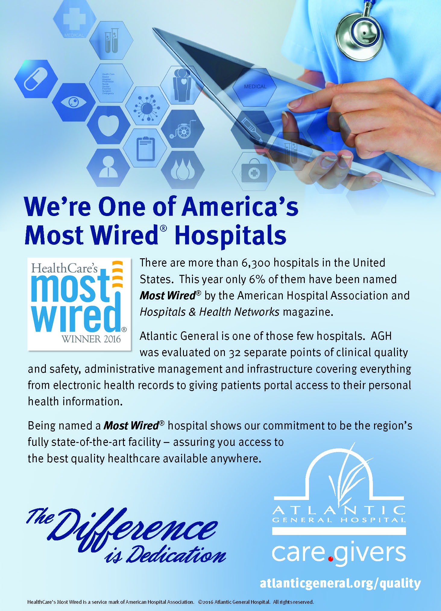 2017 Ad Award Winners « Hospital Marketing National Atlanta