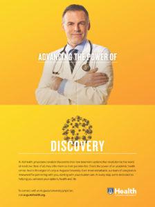 Augusta University Health Print Ad