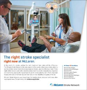 McLaren Health Care Print Ad
