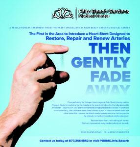 Palm Beach Gardens Medical Center Print Ad