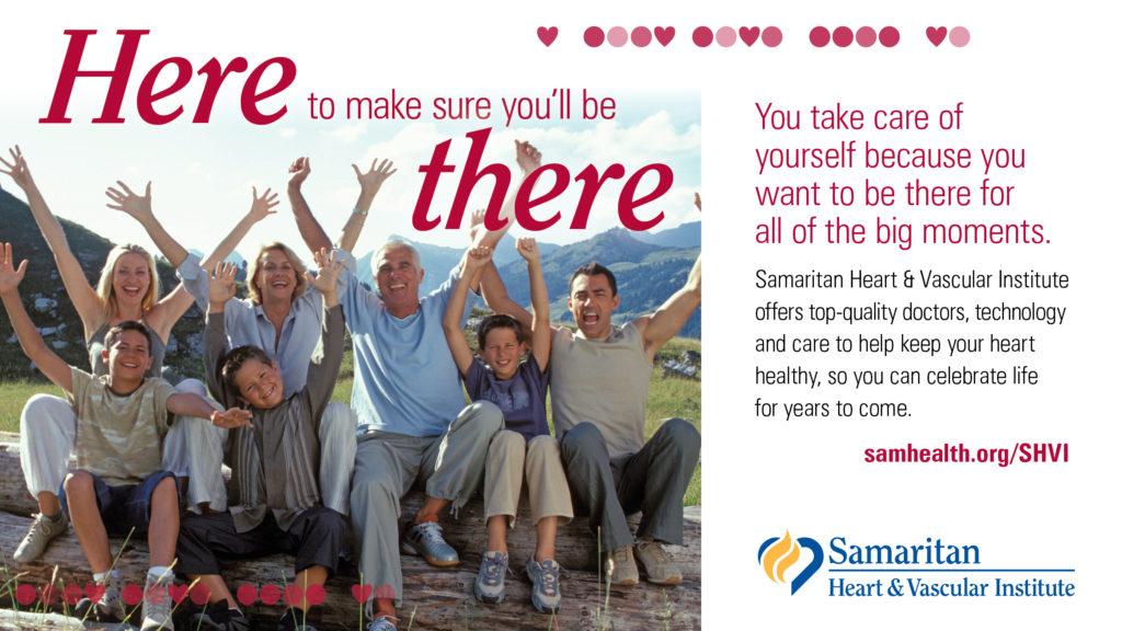 Samaritan Health Services Print Ad