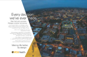 VCU Health System Print Ad